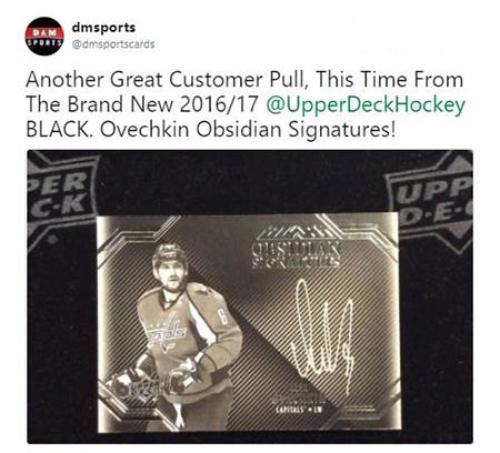 2016-17-Upper-Deck-UD-Black-NHL-Ovechkin-Obsidian-Signatures-Card