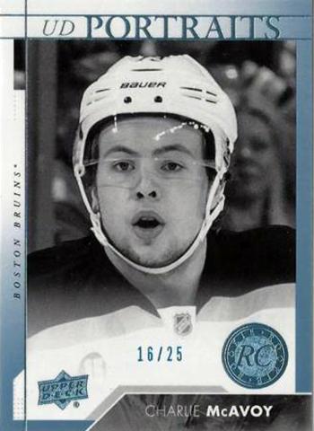 2017-18-NHL-Upper-Deck-Series-One-Rookie-Portraits-Charlie-McAvoy