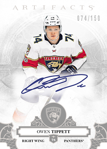 2017-18-NHL-Upper-Deck-Artifacts-Rookie-Redemption-Autograph-Owen-Tippett