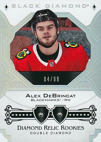 2017-18-NHL-Upper-Deck-Black-Diamond-Double-Rookie-Alex-DeBrincat
