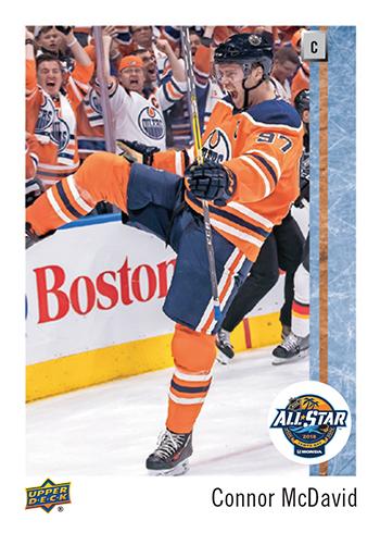 2018-NHL-Upper-Deck-All-Star-Set-Connor-McDavid