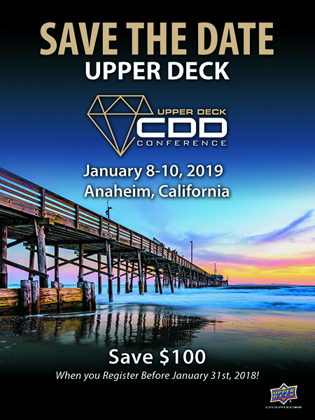 2019-Upper-Deck-Certified-Diamond-Dealer-Conference-Anaheim-save-date-preregister
