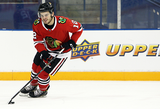 Upper-Deck-NHLPA-Rookie-Showcase-2017-alex-debrincat-chicago-blackhawks-smile