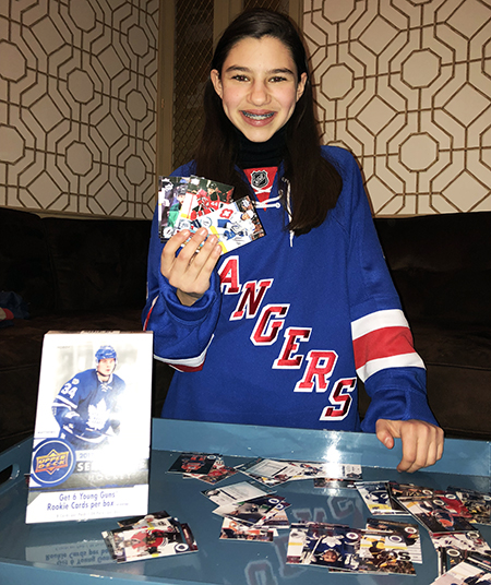 Sabrina-Solomon-kid-blogger-girl-hockey-fan-upper-deck-series-one-collector-2