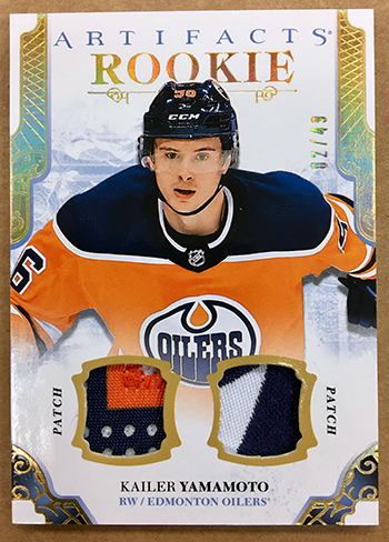 2017-18-NHL-Artifacts-Rookie-Redemption-Exchange-Patch-Nico-Kailer-Yamamoto