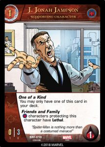 2018-upper-deck-vs-system-2pcg-marvel-spider-friends-supporting-character-jonah-jameson