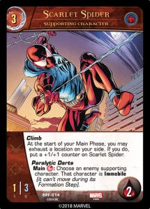 2018-upper-deck-vs-system-2pcg-marvel-spider-friends-supporting-character-scarlet-spider