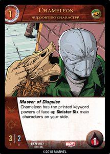 2018-upper-deck-vs-system-2pcg-marvel-sinister-syndicate-supporting-character-chameleon