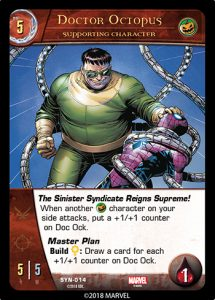2018-upper-deck-vs-system-2pcg-marvel-sinister-syndicate-supporting-character-doctor-octopus