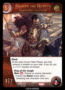 2018-upper-deck-vs-system-2pcg-marvel-sinister-syndicate-supporting-character-kraven