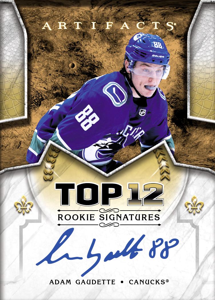 2018-19-nhl-upper-deck-artifacts-autograph-rookie-adam-gaudette