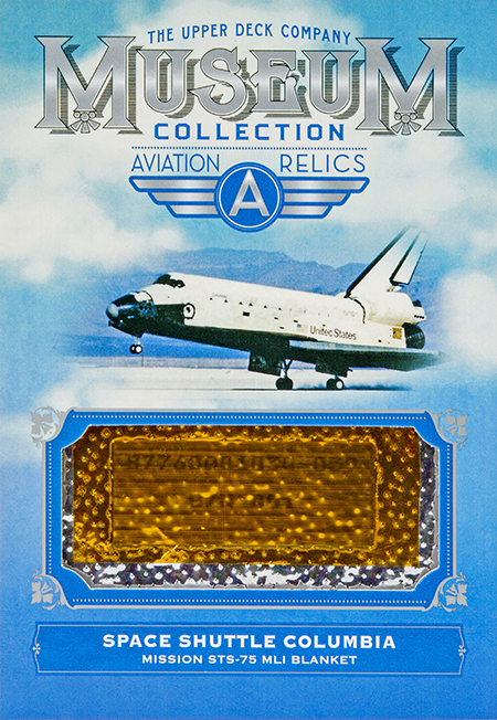 2018-upper-deck-goodwin-champions-museum-collection-aviation-relics-space-shuttle-columbia-blanket