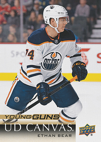 2018-19-upper-deck-series-one-canvas-young-guns-ethan-bear