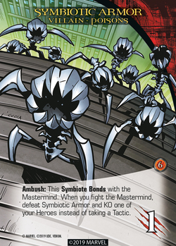 Legendary Venom Villain Symbiotic Armor