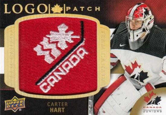 2018-upper-deck-team-canada-logo-patch-carter-hart