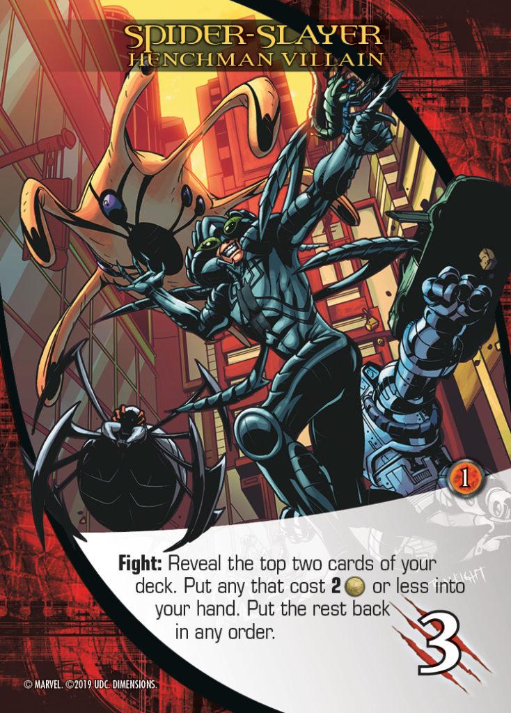 Legendary Dimensions Henchman Villain Spider-Slayer