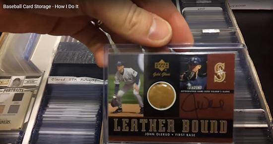 upper deck baseball card storage top loader ultra pro