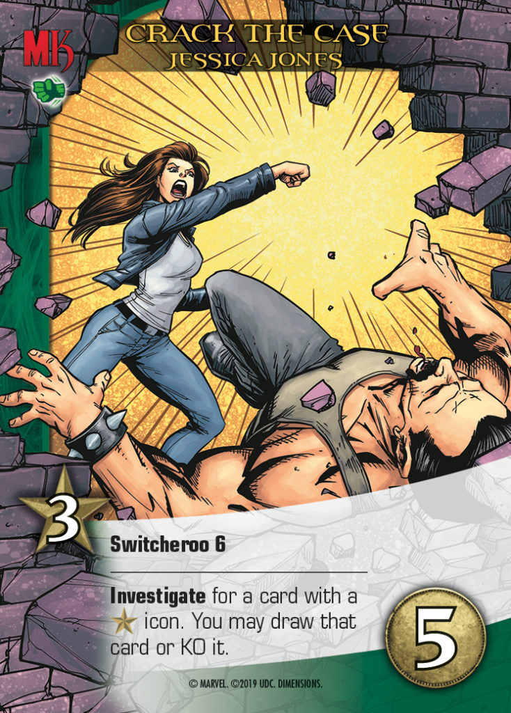 Legendary Dimensions Hero Card Jessica Jones Uncommon