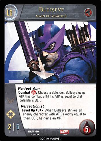 Vs System 2PCG Hammer Main Character Bullseye Level 1
