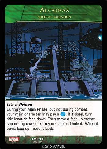 Vs System 2PCG Hammer Location Alcatraz