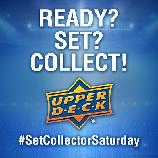 upper deck blog set collector saturday twitter