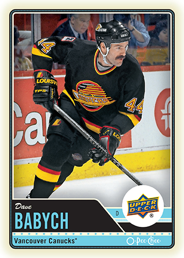 upper deck walmart vancouver signing dave babych