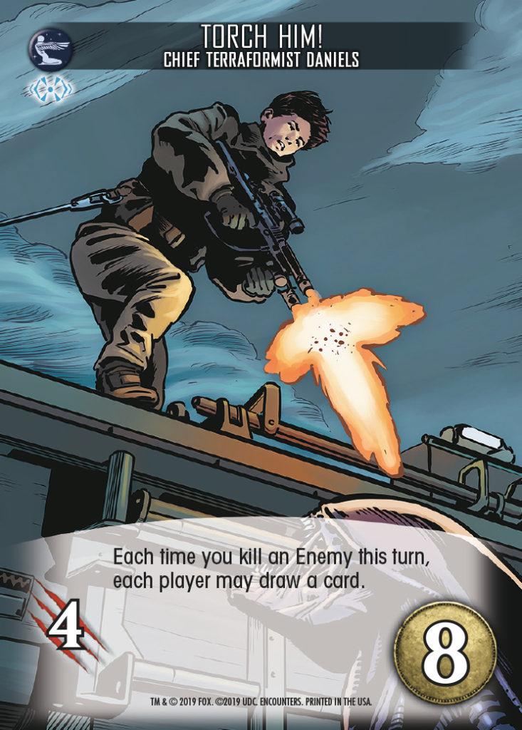 Legendary Encounters Alien Covenant Chief Terraformist Daniels Torch Him!