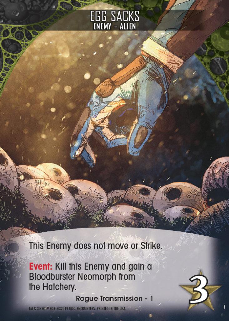Legendary Encounters Alien Covenant Enemy-Alien Egg Sacks