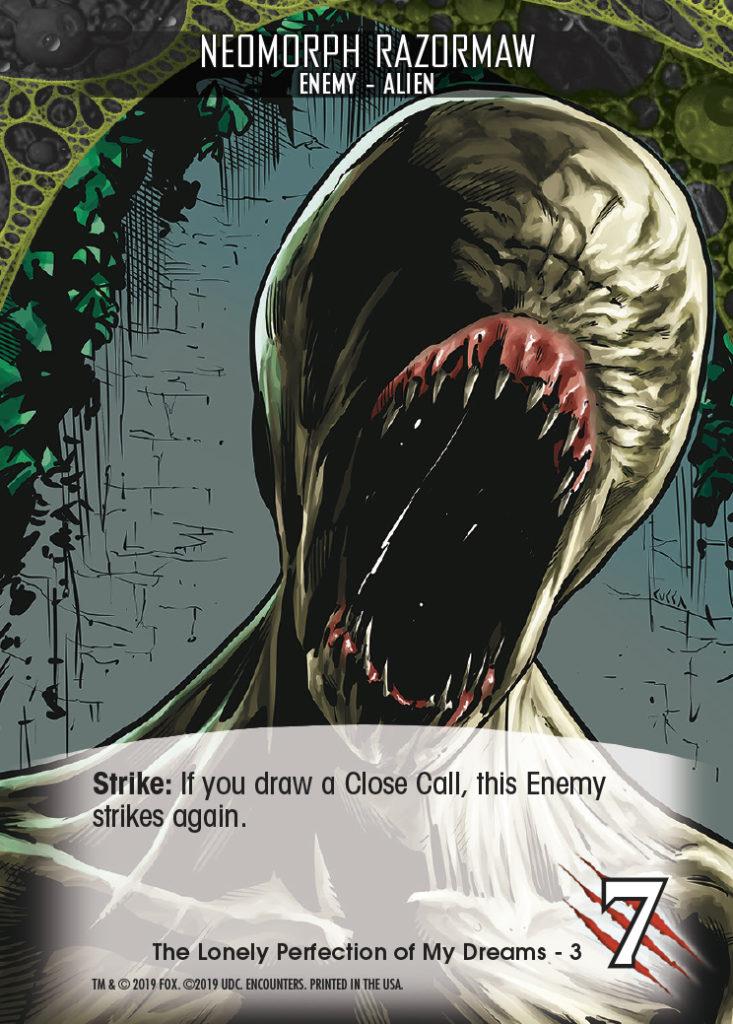 Legendary Encounters Alien Covenant Enemy-Alien Nedmorph Razormaw