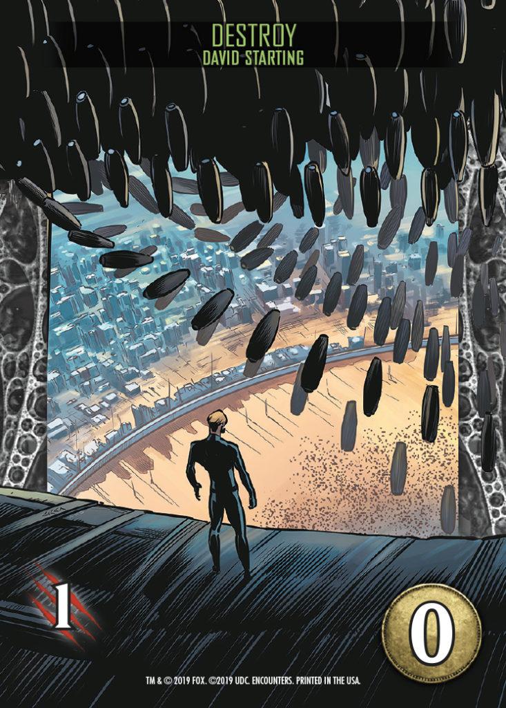 Legendary Encounters Alien Covenant David Starting Destroy