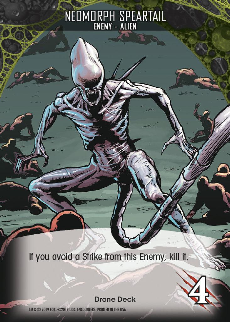 Legendary Encounters Alien Covenant Enemy-Alien Neomorph Speartail