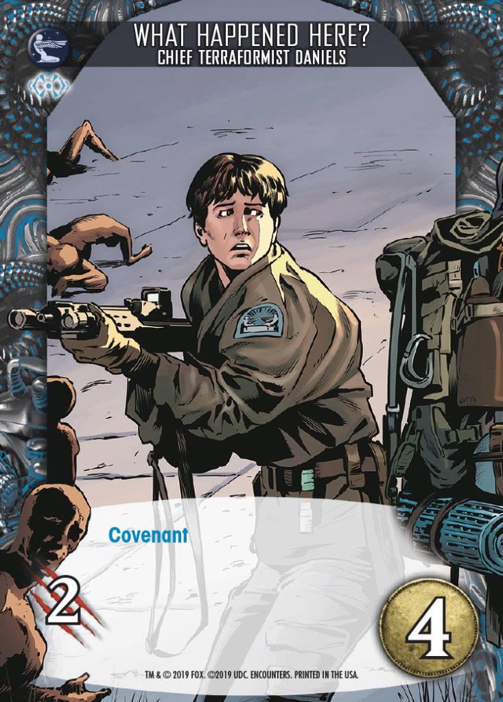 Legendary Encounters Alien Covenant Chief Terraformist Daniels What Happened Here?