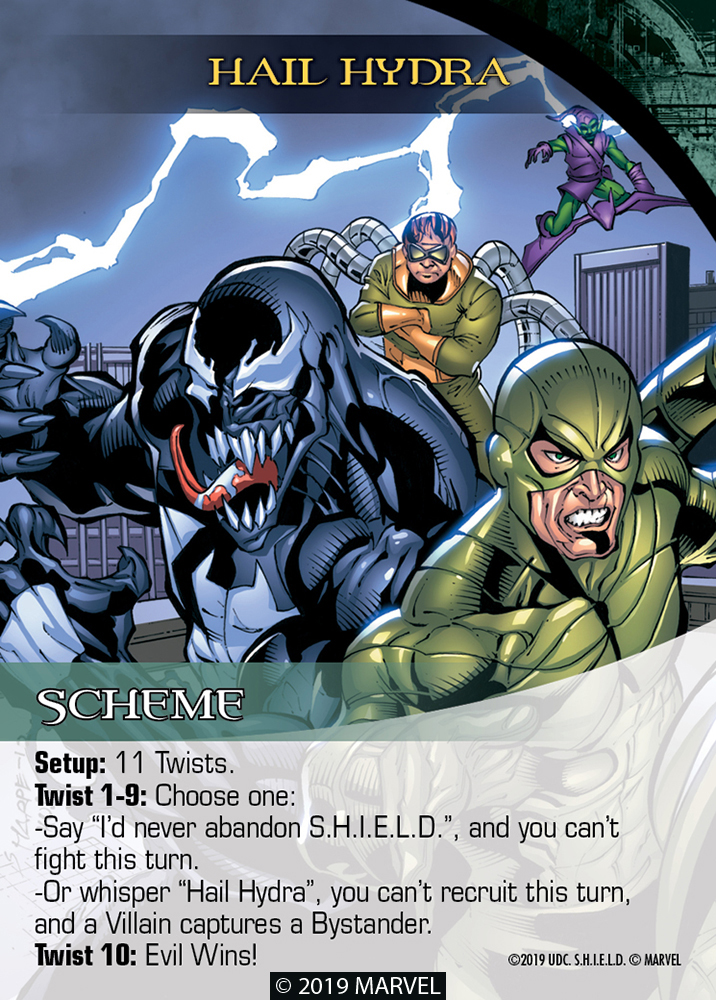 Legendary Shield Scheme Hail Hydra