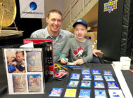 Upper Deck Shares a Memorable Weekend with an Eight-Year-Old Artist and his Dad at the Western Canada Sports Collectors Convention