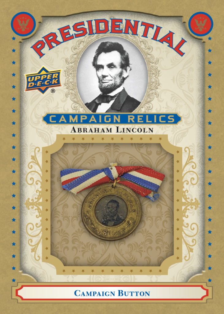 Abraham Lincoln President Card