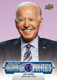 Joe Biden Democratic Candidate Card