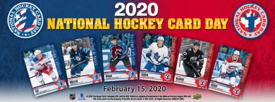 2020 upper deck national hockey card day collect stadium series