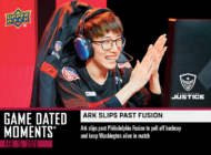 2020 OVERWATCH LEAGUE™ GAME DATED MOMENTS WEEK 1 CARDS ARE AVAILABLE!