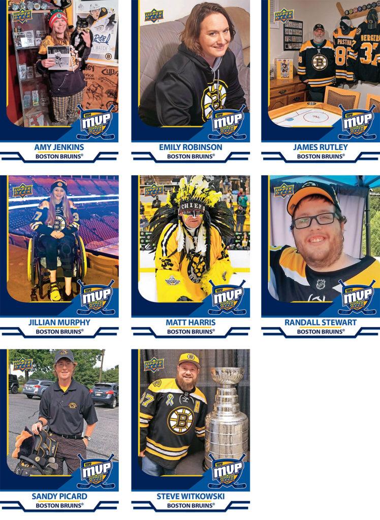 MyMVP Boston Bruins Team MVP Nominees