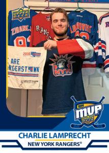 Charlie Lamprecht - New York Rangers - MyMVP