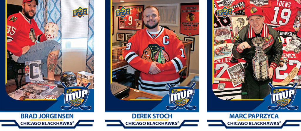 MyMVP Chicago Blackhawks Team MVP Nominees