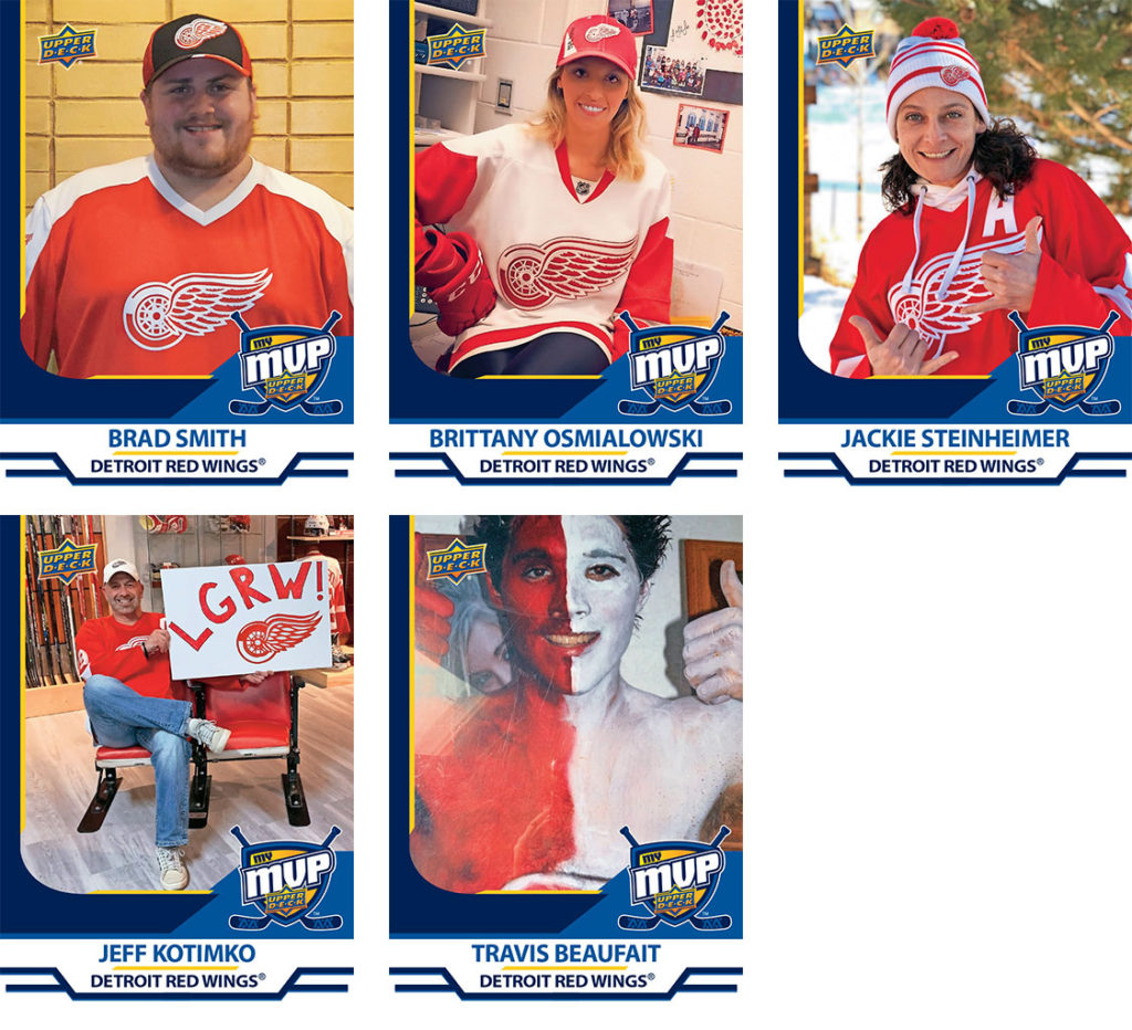 MyMVP Detroit Red Wings Team MVP Nominees