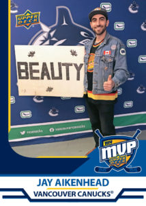 Jay Aikenhead - Vancouver Canucks - MyMVP