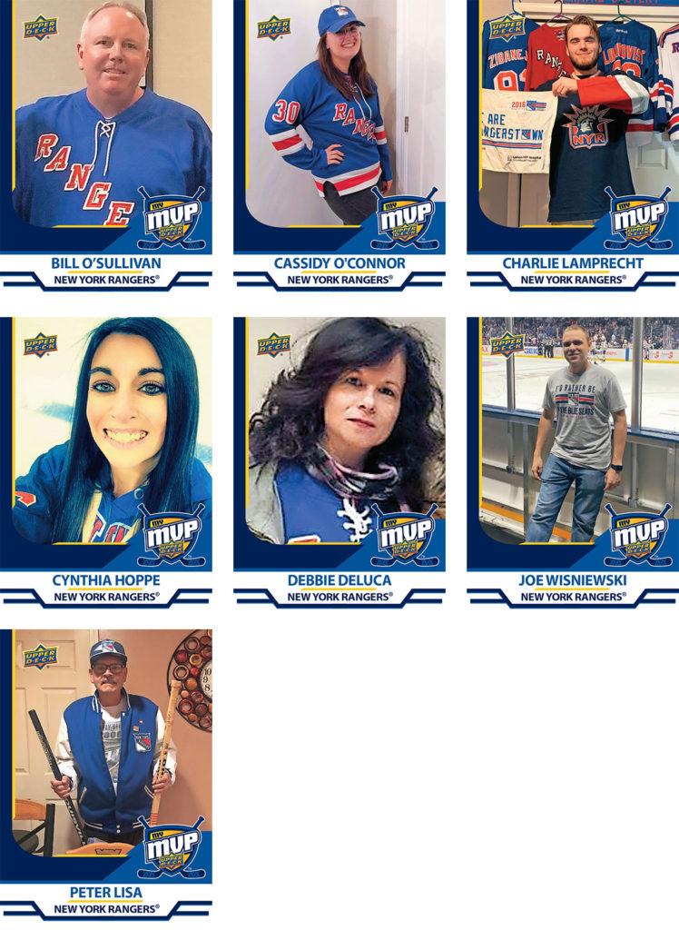 MyMVP New York Rangers Team MVP Nominees