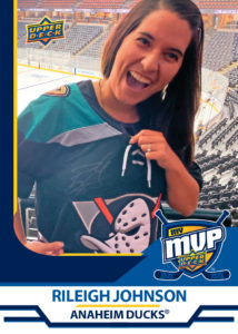Rileigh Johnson - Anaheim Ducks - MyMVP