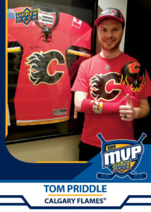 Tom Priddle - Calgary Flames - MyMVP