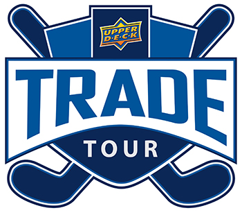 upper deck trade tour logo hockey card show
