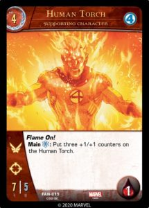 1-2020-upper-deck-marvel-vs-system-2pcg-fantastic battles-supporting-character-human-torch