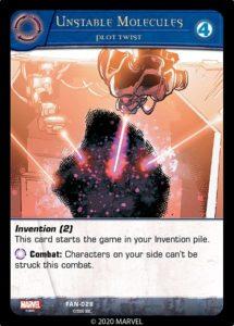 3-2020-upper-deck-marvel-vs-system-2pcg-fantastic battles-invention-unstable-molecules