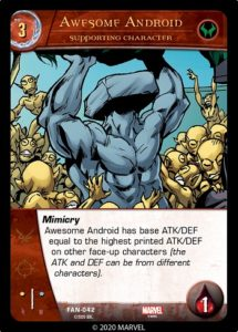 4-2020-upper-deck-marvel-vs-system-2pcg-fantastic battles-supporting-character-awesome-android